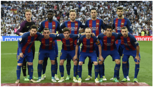 Barcelona defense